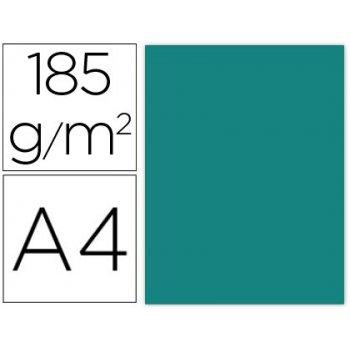 Cartulina guarro din a4 verde menta 185 gr paquete de 50 h