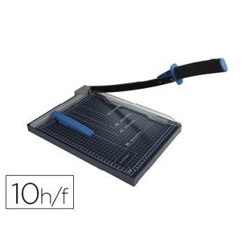 Cizalla q-connect metalica de palanca a4 capacidad corte 10 hojas