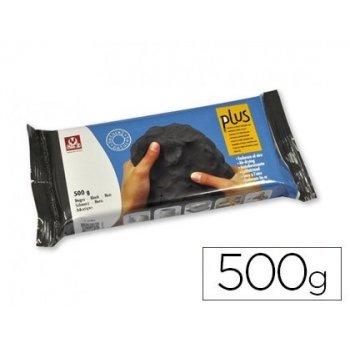 Arcilla sio-2 plus que endurece al aire negro 500 gr