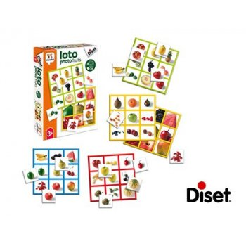 Juego diset educativo loto photo fruits