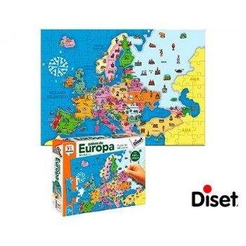 Juego diset didactico paises de europa