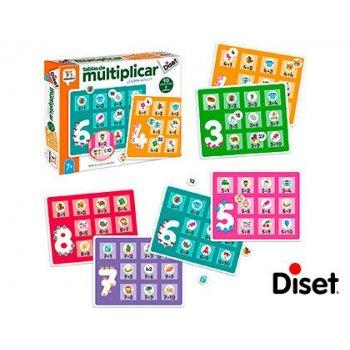 Juego diset didactico tablas de multiplicar