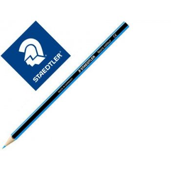 Lapiz de color staedtler wopex ecologico azul claro