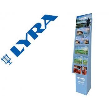 Lapices de colores lyra graduate expositor suelo de 31 cajas metalicas surtidas 1800x450x360 mm