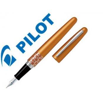 Pluma pilot urban mr retro pop naranja con estuche y bolsa