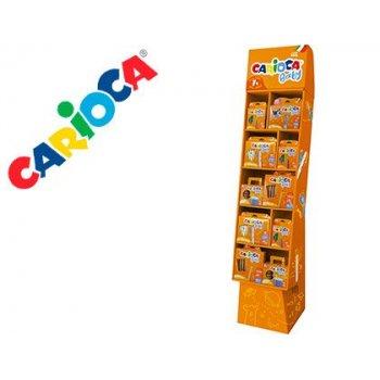 Expositor carioca baby suelo 400x270x1200 mm