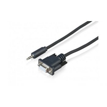 Sony CAB-RSJA1 adaptador de cable 3.5 mm D-Sub Negro