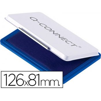 Tampon q-connect n.1 126x81 mm azul