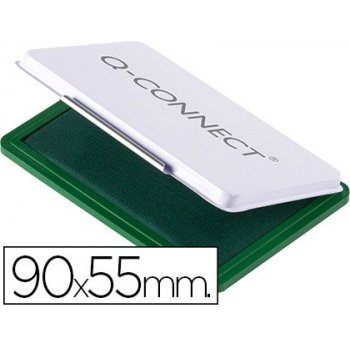 Tampon q-connect n.3 90x55 mm verde