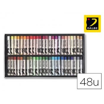 Lapices pastel oleo dalbe caja 48 colores surtidos