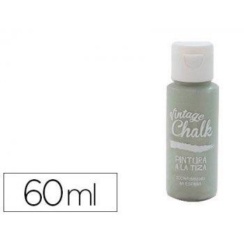 Pintura acrilica vintage chalk efecto tiza verde eucalipto vc-16 bote de 60 ml