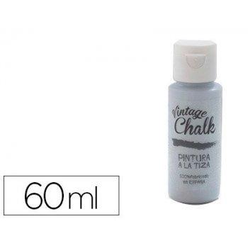 Pintura acrilica vintage chalk efecto tiza azul cielo vc-11 bote de 60 ml