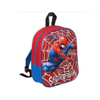 Cartera escolar spiderman 3d mochila 30x25x9 cm