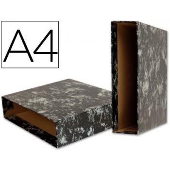 Caja archivador liderpapel classic blue a4 negra