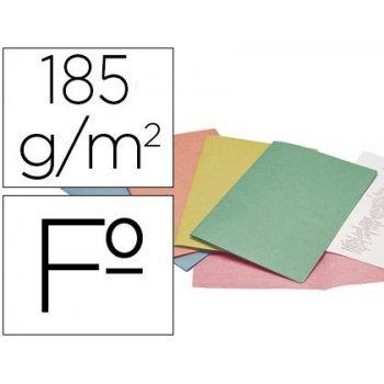 Subcarpeta cartulina liderpapel folio colores surt pte.de 25 sdas.retractiladas