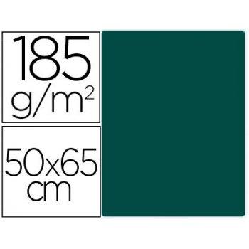 Cartulina guarro verde safari 50x65 cm 185 gr