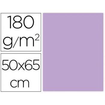 Cartulina liderpapel 50x65 cm 180g m2 lila paquete de 25