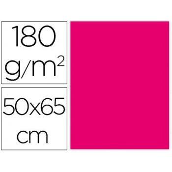 Cartulina liderpapel 50x65 cm 180g m2 fucsia paquete de 25