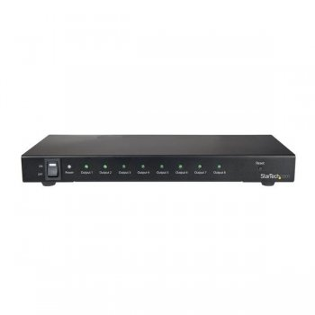 StarTech.com Divisor Splitter HDMI de 8 Puertos - 4K 60Hz con Audio 7.1