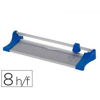 Cizalla q-connect metalica de rodillo de 32 cm con base de aluminio