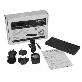 StarTech.com Splitter HDMI de 4 Puertos - 60Hz