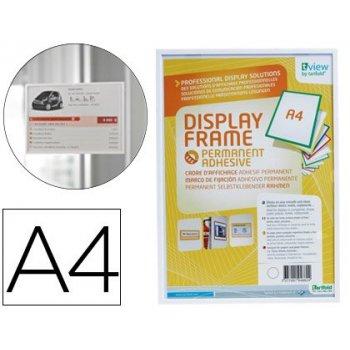 Funda para colgar tarifold din a4 adhesiva blanco