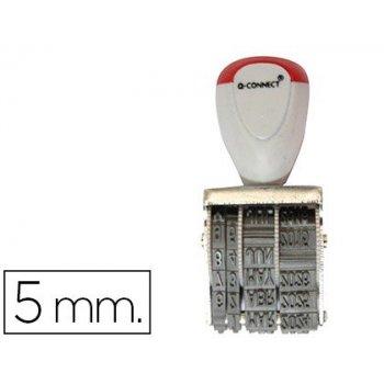 Fechador q-connect con banda para 12 años incluido dia-mes-año 5 mm