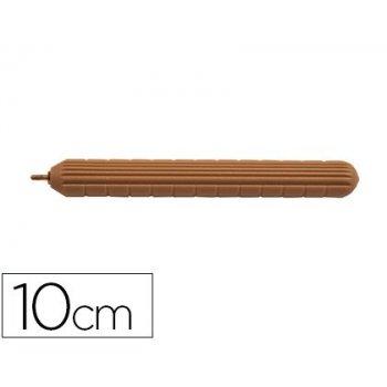 Punzon faibo plastico imitacion madera con punta de acero latonado