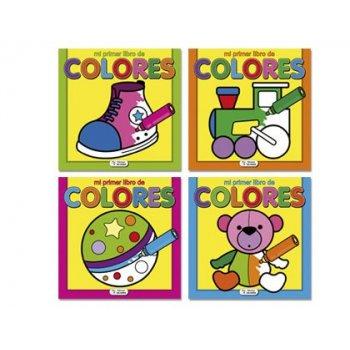 Cuaderno para colorear mi primer libro de colores 72 paginas 160x160 mm