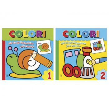 Cuaderno para colorear colori
