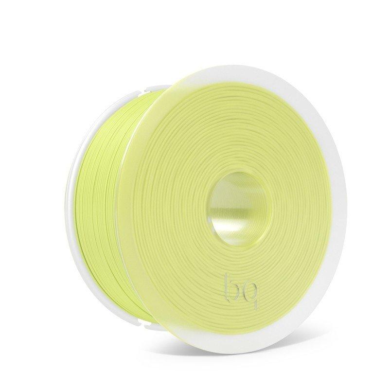 bq F000163 material de impresión 3d Ácido poliláctico (PLA) Amarillo 1 kg