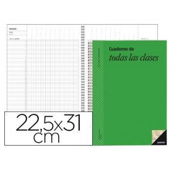Bloc de todas las clases additio plan mensual del curso evaluacion continua y programacion semanal 22,5x31cm