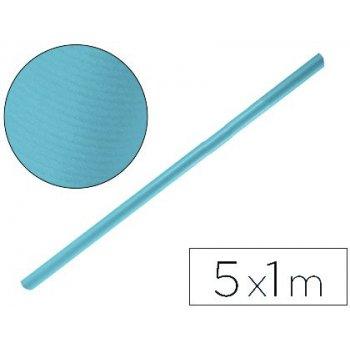 Papel kraft liderpapel azul turquesa rollo 5x1 mt