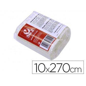 Vendas yeso sio-2 10x270 cm paquete de 2 rollos ideal paramascaras moldes y maquetas