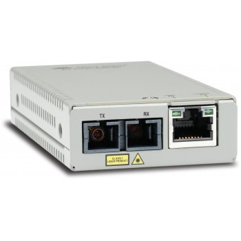 Allied Telesis AT-MMC200 SC-60 convertidor de medio 100 Mbit s 1310 nm Multimodo Plata