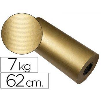 Papel fantasia kraft havana frech oro bobina 62 cm 7 kg