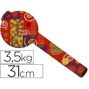 Papel fanstasia kraft havana todo el año bobina 31 cm 3,5 kg