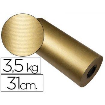 Papel fantasia kraft havana frech oro bobina 31 cm 3,5 kg