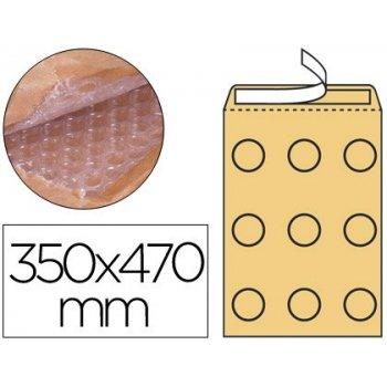 Sobre burbujas crema q-connect k 7 350 x 470 mm caja de 50