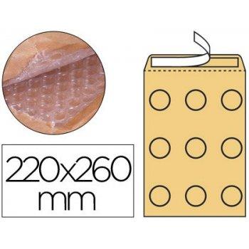 Sobre burbujas crema q-connect e 2 220 x 260 mm caja de 100