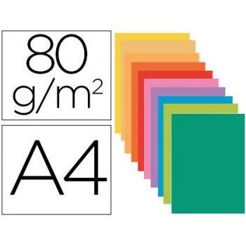 Subcarpeta papel exacompta din a4 colores surtidos 80 gr