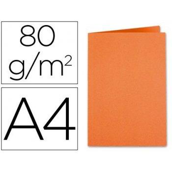 Subcarpeta cartulina exacompta din a4 naranja 80 gr