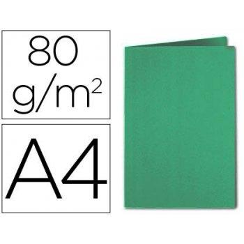 Subcarpeta cartulina exacompta din a4 verde oscuro 80 gr