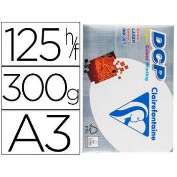 Papel fotocopiadora clairefontaine din a3 300 gramos paquete de 125 hojas