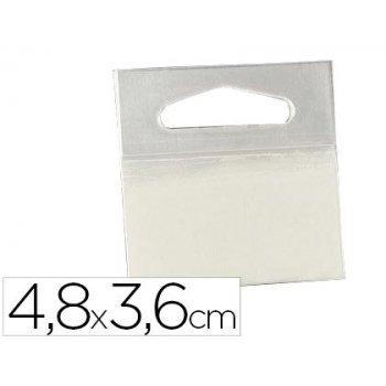 Colgador con adhesivo 3m hang tab 2180 rollo 1000 etiquetas48x36 mm