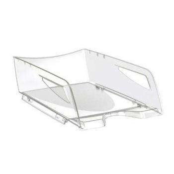 Bandeja sobremesa cep maxi de gran capacidad 386x270x115 mm plastico transparente
