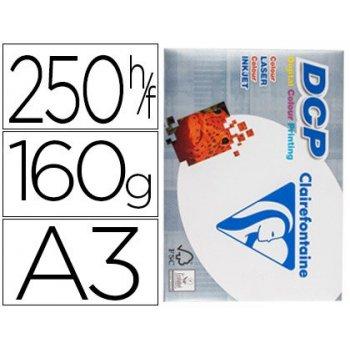 Papel fotocopiadora clairefontaine din a3 160 gramos paquete de 250 hojas
