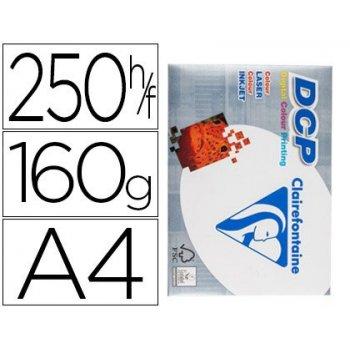 Papel fotocopiadora clairefontaine din a4 160 gramos paquete de 250 hojas
