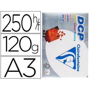 Papel fotocopiadora clairefontaine din a3 120 gramos paquete de 250 hojas