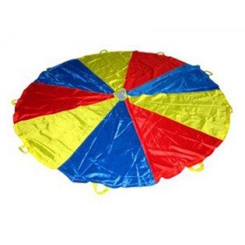 Paracaidas amaya de nylon con 12 asas colores del parchis 3,50 m